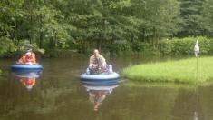 legrační loďky - zábavný park