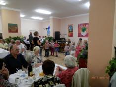 Oslava jubilantů asetkání seniorů 30.září 2014