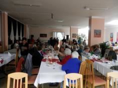 Oslava jubilantů 2.pol.2015 vjídelně učiliště Údlice