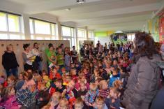 Setkání mateřských škol vzákladní škole r.2016