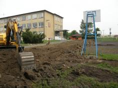 Výstavba multifunkčního hřiště