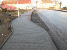 nové chodníky