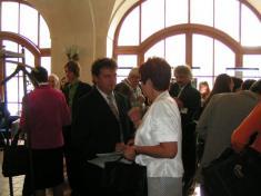 Slavnostní předávání titulu EKOŠKOLA - ZŠ Údlice dne 27.6.2007 vPS ČR