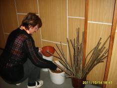 Podzimní aranžování rok 2011