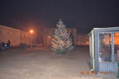 Rozsvěcování vánočního stromečku r.2011